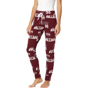 Concepts Sport Women's Mississippi State Bulldogs Marooon Slide Sleep Pants