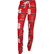Concepts Sport Women's NC State Wolfpack Red Slide Sleep Pants