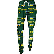 Concepts Sport Women's Oregon Ducks Green Slide Sleep Pants
