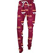 Concepts Sport Women's Virginia Tech Hokies Marooon Slide Sleep Pants