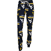 Concepts Sport Women's West Virginia Mountaineers Blue Slide Sleep Pants