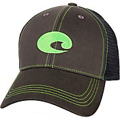 Costa Del Mar Graphite Twill Trucker Cap