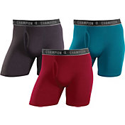 Champion Men's Performance Cotton 6'' Boxer Brief – 3-Pack
