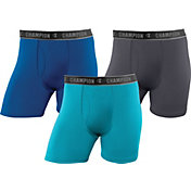 Champion Men's Active Performance 6'' Boxer Brief – 3 Pack