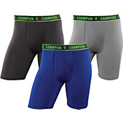 Champion Men's Active Performance 9'' Boxer Brief – 3 Pack
