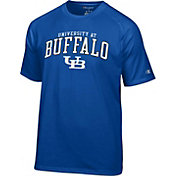 Champion Men's Buffalo Bulls Blue Logo T-Shirt