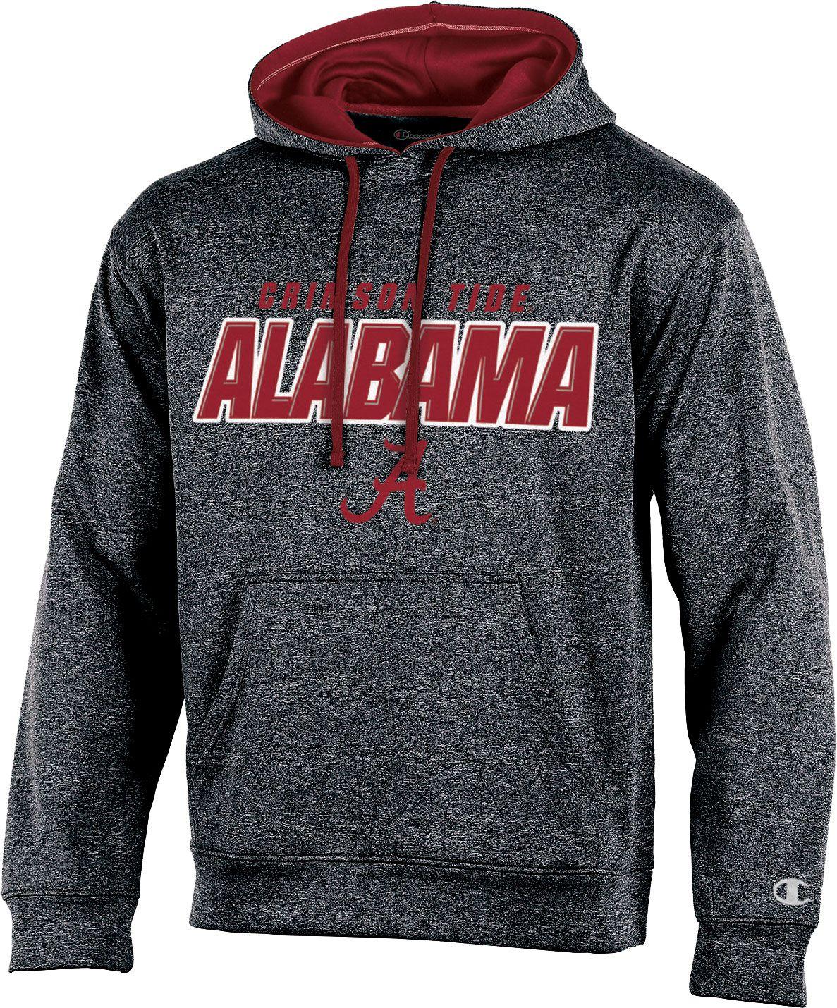 Alabama crimson tide mens apparel best price guarantee at dicks product image champion mens alabama crimson tide grey t formation hoodie biocorpaavc