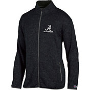 Champion Men's Alabama Crimson Tide Grey Playbook Full-Zip Jacket