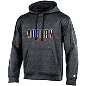 Champion Men's Auburn Tigers Grey Double Possession Pullover Hoodie
