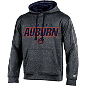 Champion Men's Auburn Tigers Grey T-Formation Hoodie