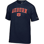 Champion Men's Auburn Tigers Blue Word Logo T-Shirt