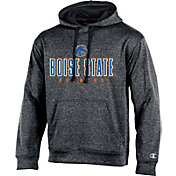 Champion Men's Boise State Broncos Grey Double Possession Pullover Hoodie