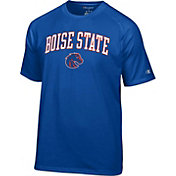 Champion Men's Boise State Broncos Blue Logo T-Shirt