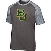 Champion Men's Baylor Bears Grey Big Logo T-Shirt