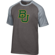 Champion Men's Baylor Bears Grey Big Logo T-Shirt