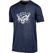 Champion Men's Brigham Young Cougars Blue Touchback T-Shirt