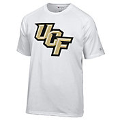 Champion Men's UCF Knights White Big Logo T-Shirt