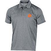 Champion Men's Clemson Tigers Grey Classic Polo