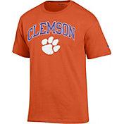Champion Men's Clemson Tigers Orange Big Soft T-Shirt