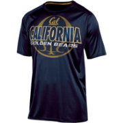 Champion Men's California Golden Bears Blue High Impact Basketball T-Shirt