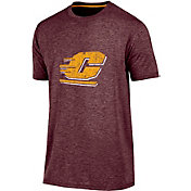 Champion Men's Central Michigan Chippewas Maroon Touchback T-Shirt