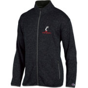 Champion Men's Cincinnati Bearcats Grey Playbook Full-Zip Jacket