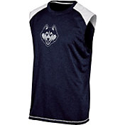 Champion Men's Connecticut Huskies Navy Muscle Tee