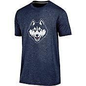Champion Men's Connecticut Huskies Blue Touchback T-Shirt