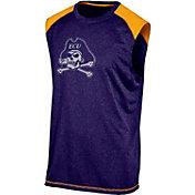 Champion Men's East Carolina Pirates Purple Muscle Tee