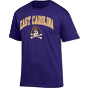 Champion Men's East Carolina Pirates Purple Big Soft T-Shirt
