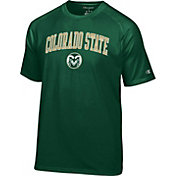 Champion Men's Colorado State Rams Green Logo T-Shirt