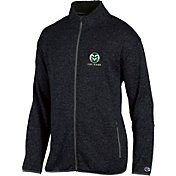 Champion Men's Colorado State Rams Grey Playbook Full-Zip Jacket