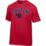 Champion Men's Dayton Flyers Red Logo T-Shirt
