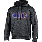 Champion Men's Florida Gators Grey T-Formation Hoodie