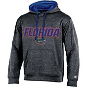 Champion Men's Florida Gators Grey T-Formation Hoodie