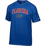 Champion Men's Florida Gators Blue Word Logo T-Shirt