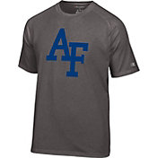 Champion Men's Air Force Falcons Grey Big Logo T-Shirt