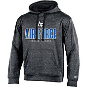 Champion Men's Air Force Falcons Grey Double Possession Pullover Hoodie
