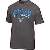 Champion Men's Air Force Falcons Grey Performance Tee