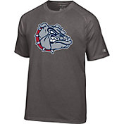 Champion Men's Gonzaga Bulldogs Grey Big Logo T-Shirt