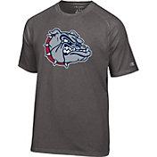 Champion Men's Gonzaga Bulldogs Grey Big Logo T-Shirt