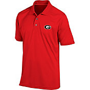 Champion Men's Georgia Bulldogs Red Classic Polo