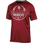 Champion Men's Oklahoma Sooners Crimson Impact Basketball T-Shirt