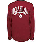 Champion Oklahoma Sooners Crimson Pursuit Long Sleeve Shirt