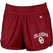 Champion Women's Oklahoma Sooners Crimson Endurance Shorts