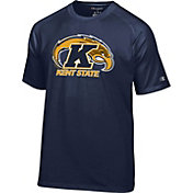 Champion Men's Kent State Golden Flashes Navy Blue Big Logo T-Shirt