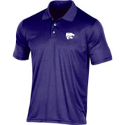 Champion Men's Kansas State Wildcats Purple Classic Polo