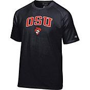 Champion Men's Oklahoma State Cowboys Black Logo T-Shirt
