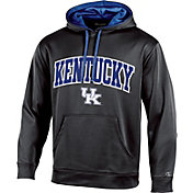Champion Men's Kentucky Wildcats Black T-Formation Pullover Hoodie