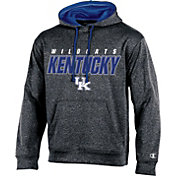 Champion Men's Kentucky Wildcats Grey T-Formation Hoodie